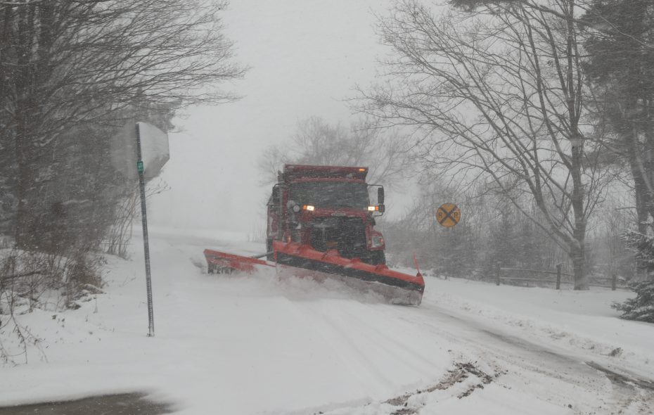 Lake-effect snow is forecast to target areas south of Buffalo starting Thursday. (John Hickey/Buffalo News file photo)