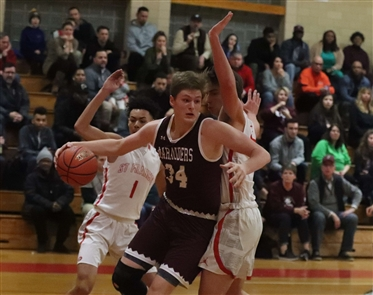 St. Francis hosts St. Joe's in Monsignor Martin boys basketball on Monday, Jan. 14, 2019.