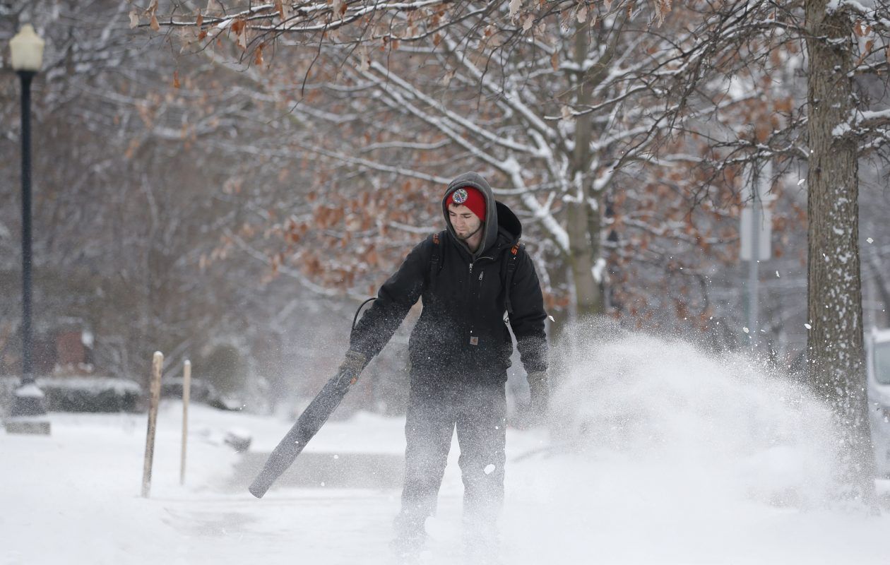 The wintry landscape is forecast to persist for much of this week in the Buffalo Niagara region. (Derek Gee/Buffalo News file photo)