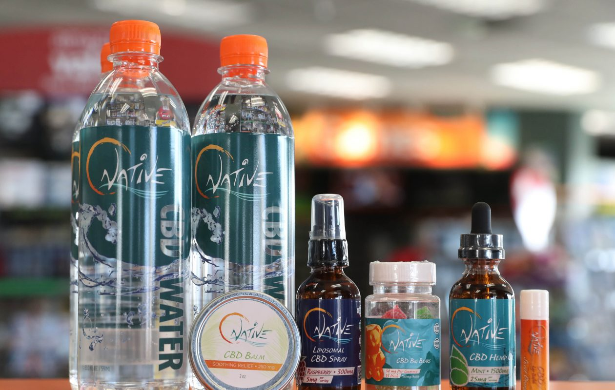 The Family Video store in Tonawanda has started selling CBD products. (Sharon Cantillon/Buffalo News)