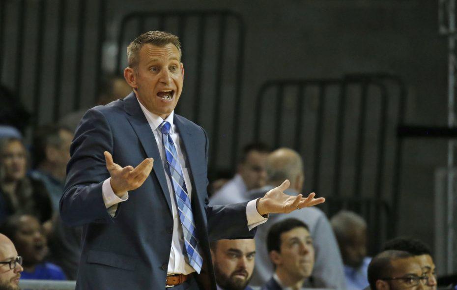 The University at Buffalo men's basketball team and head coach Nate Oats faced Northern Illinois on Tuesday in DeKalb, Ill. (Robert Kirkham/News file photo)