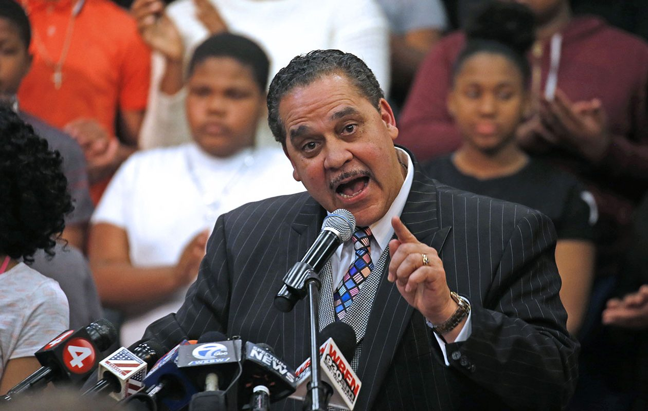 Buffalo Superintendent Kriner Cash said achieving a graduation rate of 70 percent may take a little longer than expected, but he's still encouraged. (Robert Kirkham/News file photo)