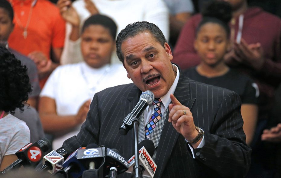 Buffalo Superintendent Kriner Cash is appropriately dissatisfied with new state test results. (Robert Kirkham/News file photo)