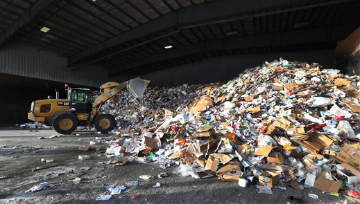 A look inside a recycling operation