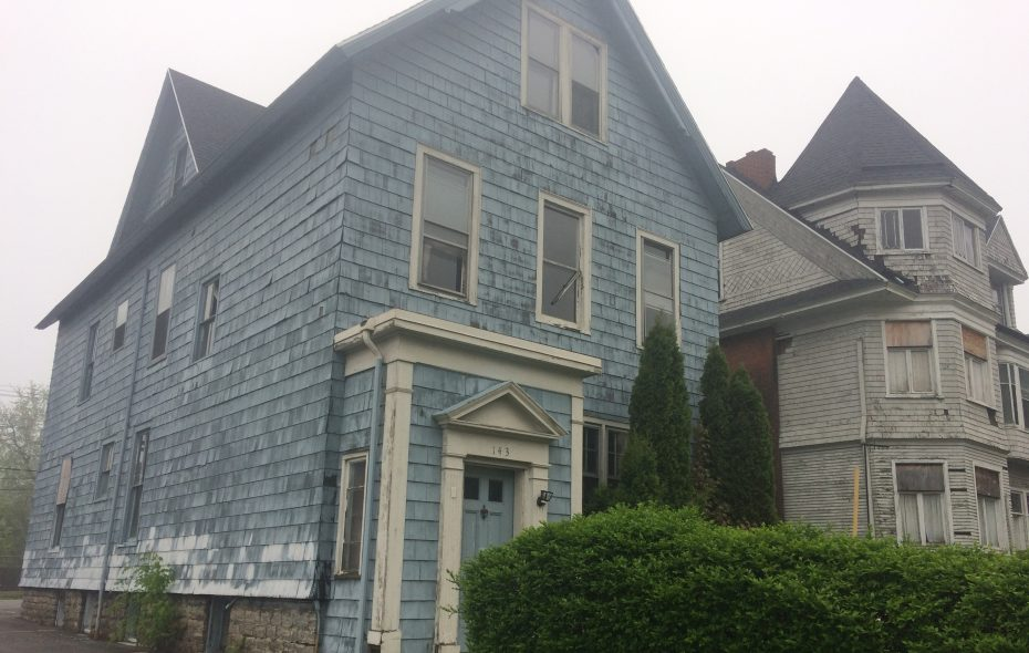 These properties at 137 and 143 Hodge Ave. in Buffalo, both owned by Sinatra & Company Real Estate through a limited-liability company, are the subject of Housing Court proceedings this week.