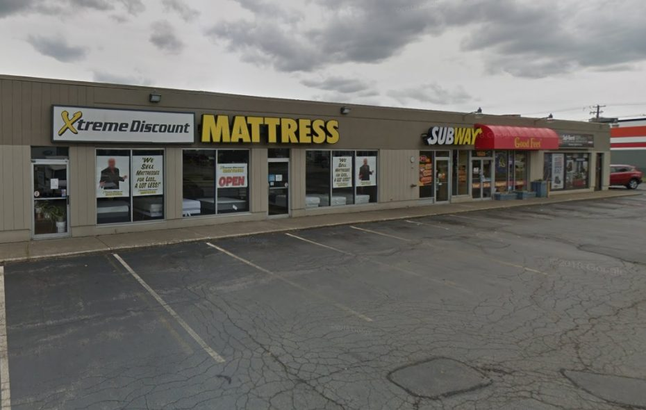 This retail plaza on Walden Avenue was acquired by a Lancaster developer. (Google)