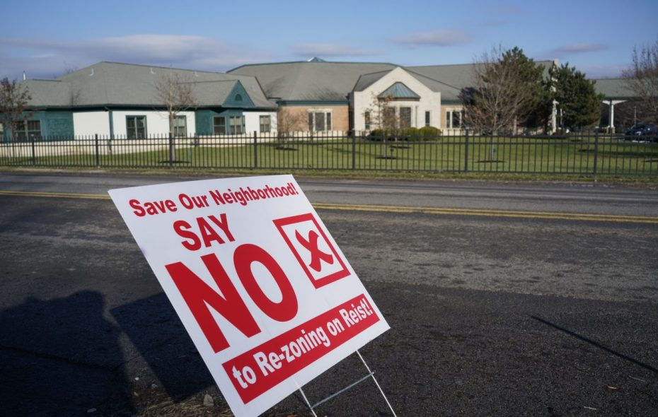 Some neighbors oppose a planned conversion of the St. Mary of the Angels regional house at 201 Reist St. to senior housing, but the Amherst Town Board on Friday approved the rezoning requested by Tzetzo Cos. for the $13.1 million project. (Buffalo News/Derek Gee)