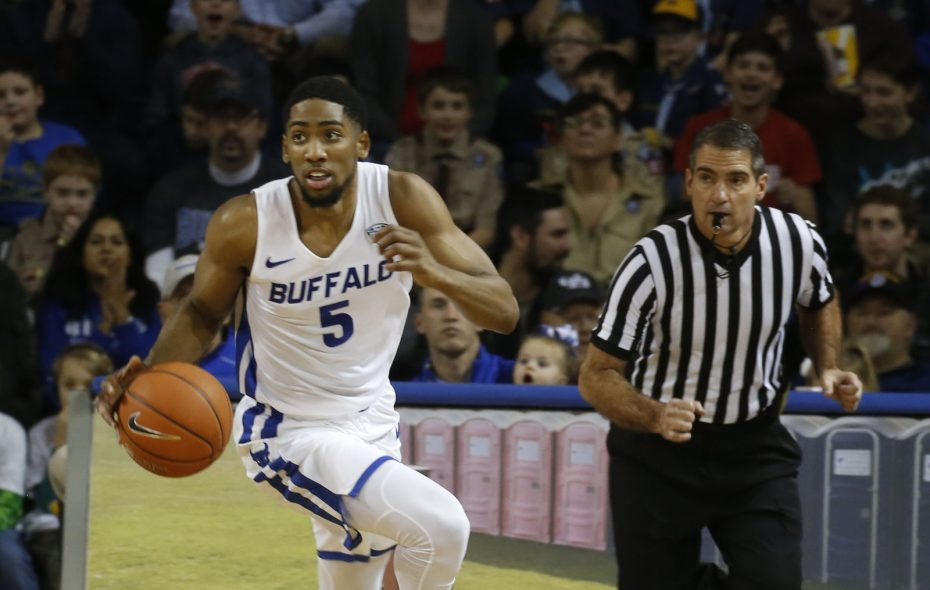 University at Buffalo guard C.J Massinburg scored 31 points Friday in a 77-65 win against Eastern Michigan. (Robert Kirkham/The Buffalo News)