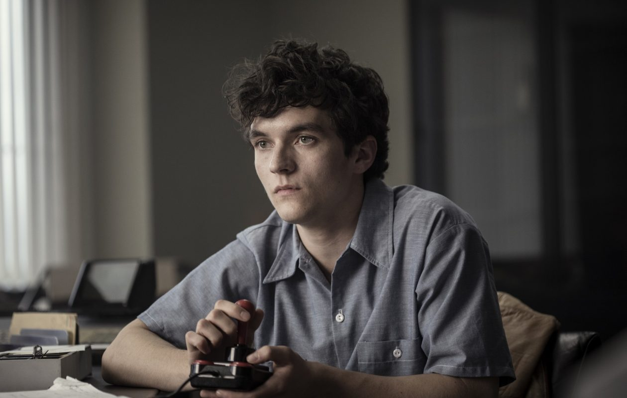 Fionn Whitehead plays a young man creating a video game in 'Bandersnatch,' season 5 of the Netflix series 'Black Mirror.' (Photo by Stuart Hendry/Netflix)