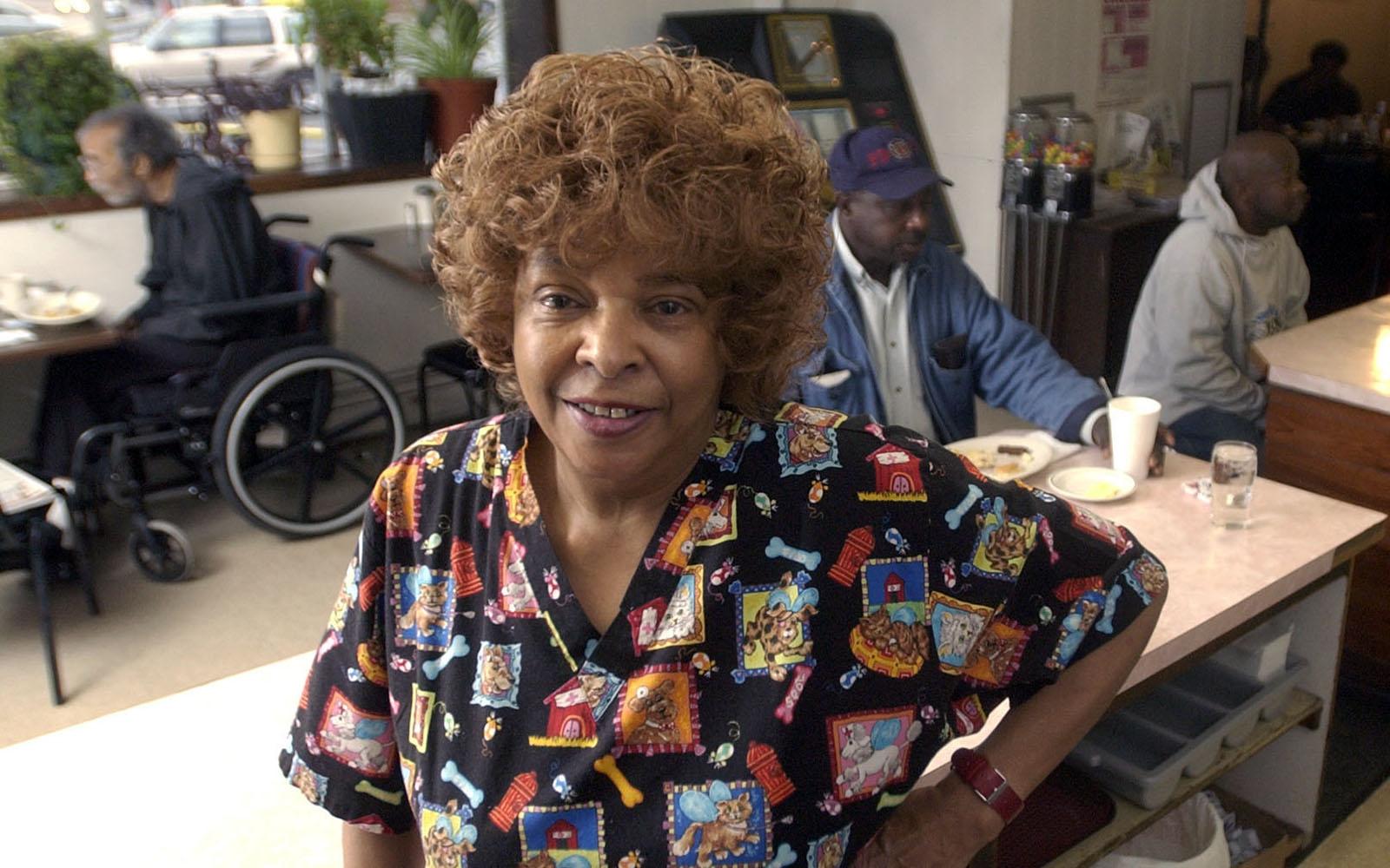 Blondine Harvin, longtime owner of Gigi's soul food restaurant, dead at 80