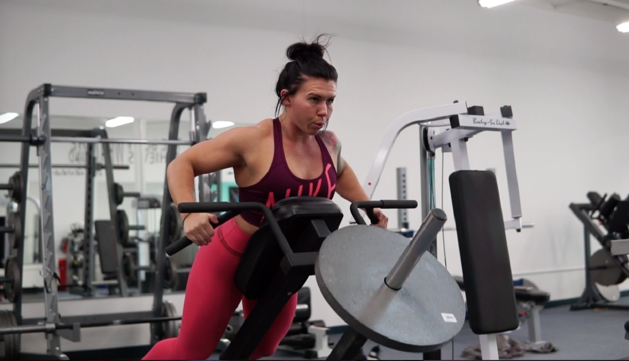 'I used to be very self-conscious of my body but since lifting heavy and strength training, I have a whole new perspective,' says Brittney Gigante, who opened Beast Unleashed Fitness last month in the Town of Tonawanda. (Courtesy of Brittney Gigante)