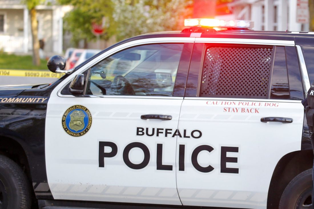 Five injured in two-vehicle accident in downtown Buffalo