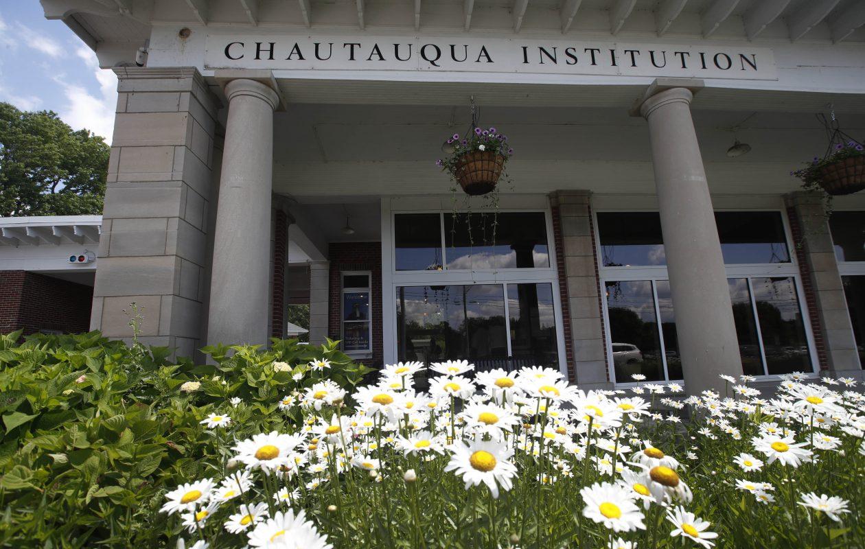 Chautauqua Institution is a not-for-profit educational center nestled on 750 acres along Chautauqua Lake. (Sharon Cantillon/Buffalo News)