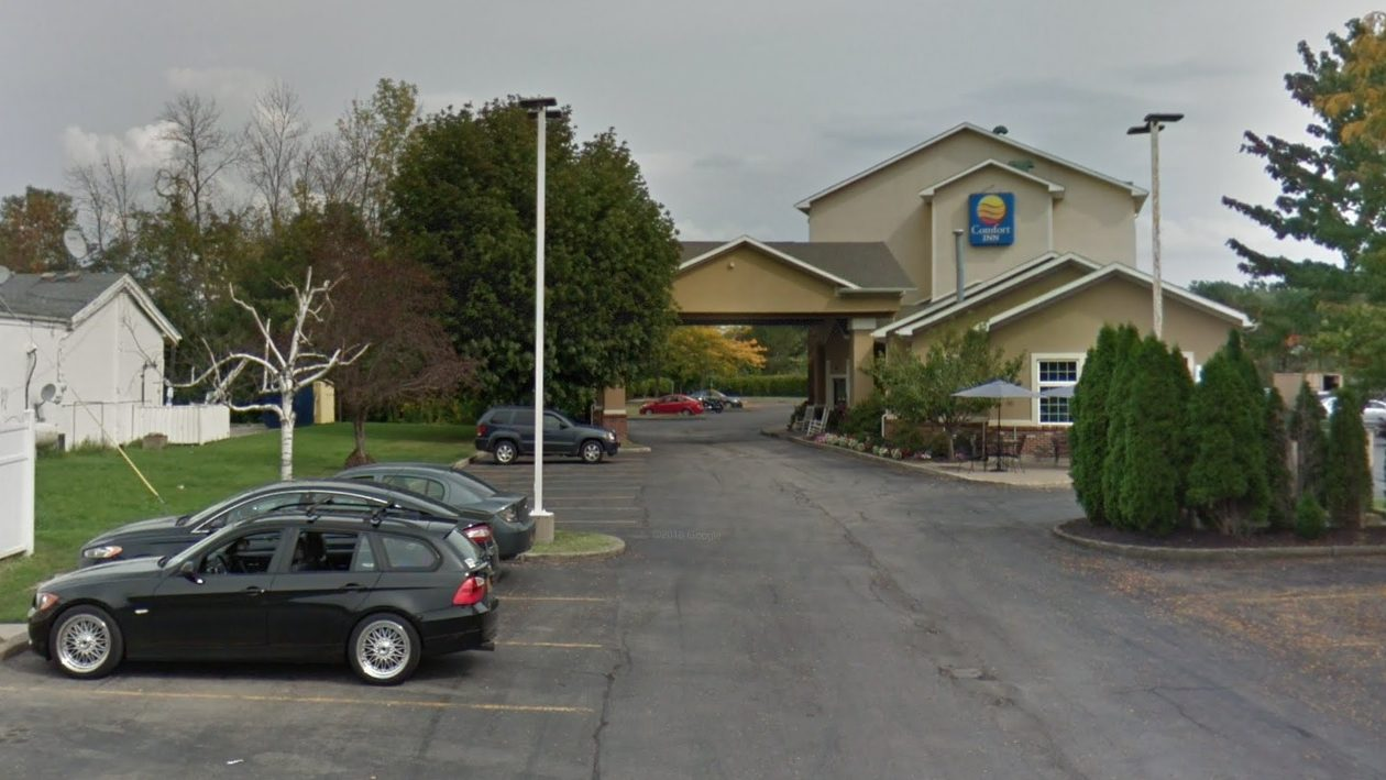 The Comfort Inn University Hotel on Flint Road in Amherst was acquired by a local businessman for nearly $6 million. (Google Maps)