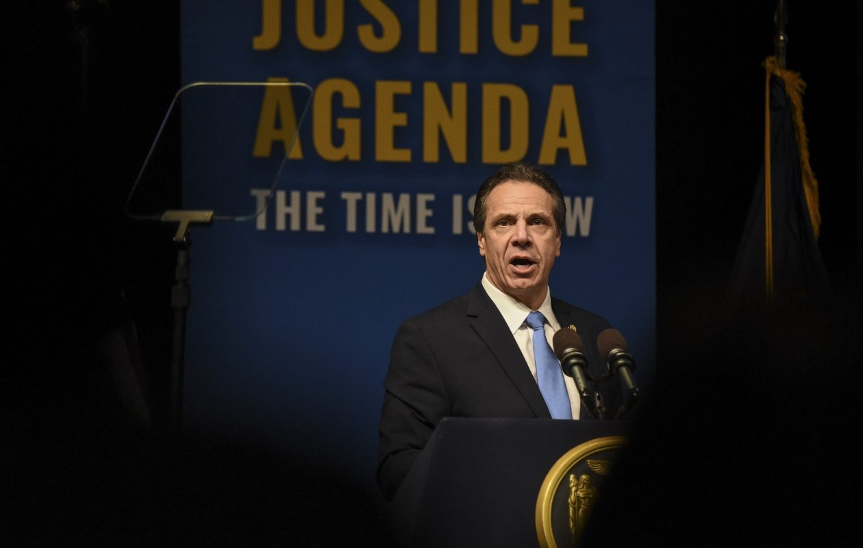 In his State of the State speech this month, Gov. Andrew Cuomo called for election law changes. (Stephanie Keith/The New York Times)