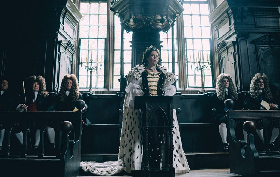 """The Favourite"" is tied with ""Roma"" for the most Oscar nominations, with 10 each. (Fox Searchlight Pictures/TNS)"