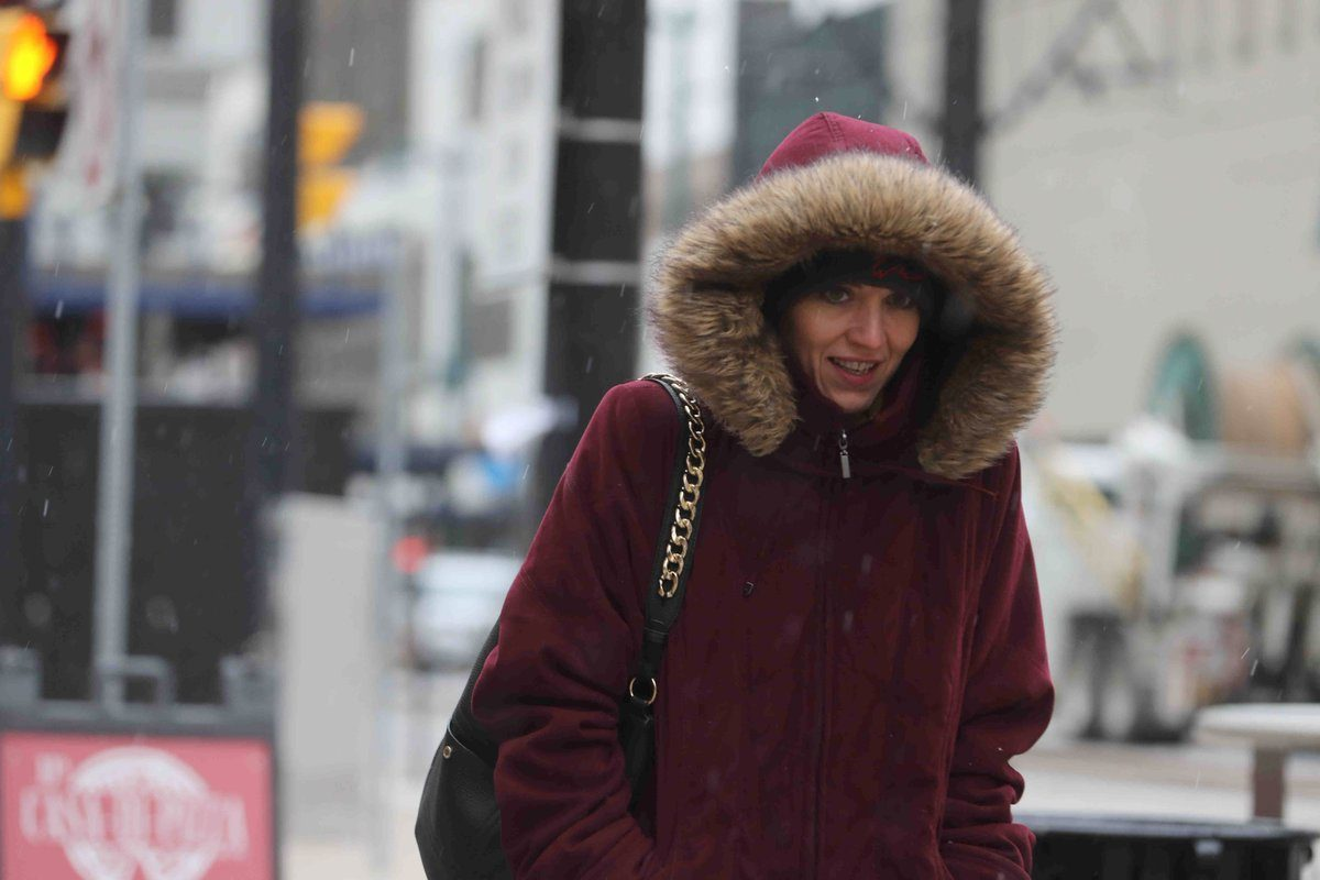 Precipitation was expected to transition from snow, sleet and freezing rain to all rain by mid-day Wednesday. (John Hickey/Buffalo News file photo)
