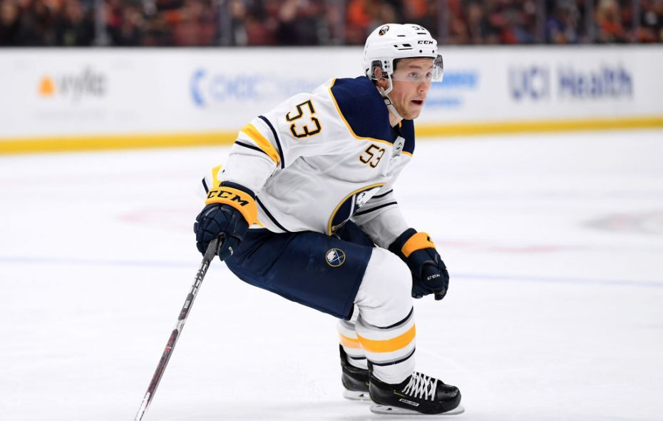 Jeff Skinner was a game-time decision Friday night in Vancouver. (Getty Images)