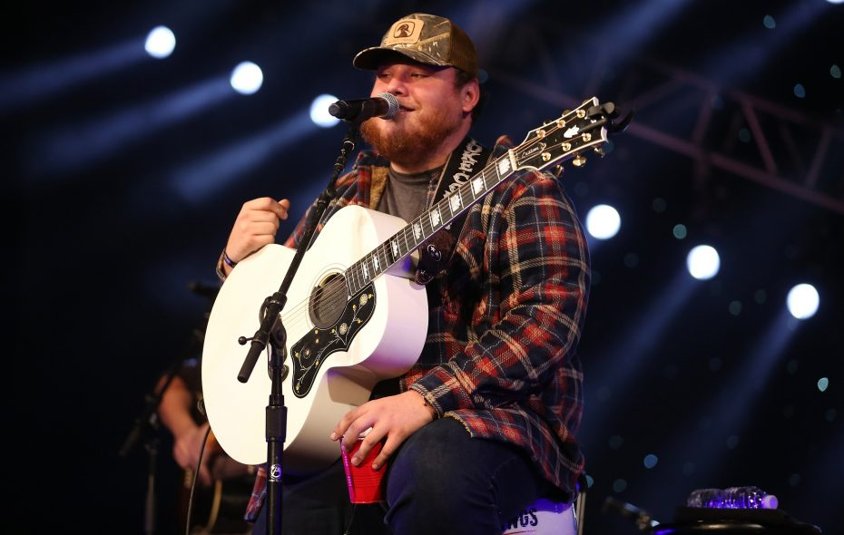 Luke Combs, one of the biggest names in country music today, is a co-headliner for the Taste of Country. (Photo by Robin Marchant/Getty Images)