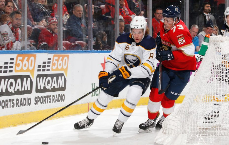 Sabres defenseman Casey Nelson has missed the past 19 games with an upper-body injury. (Getty Images)