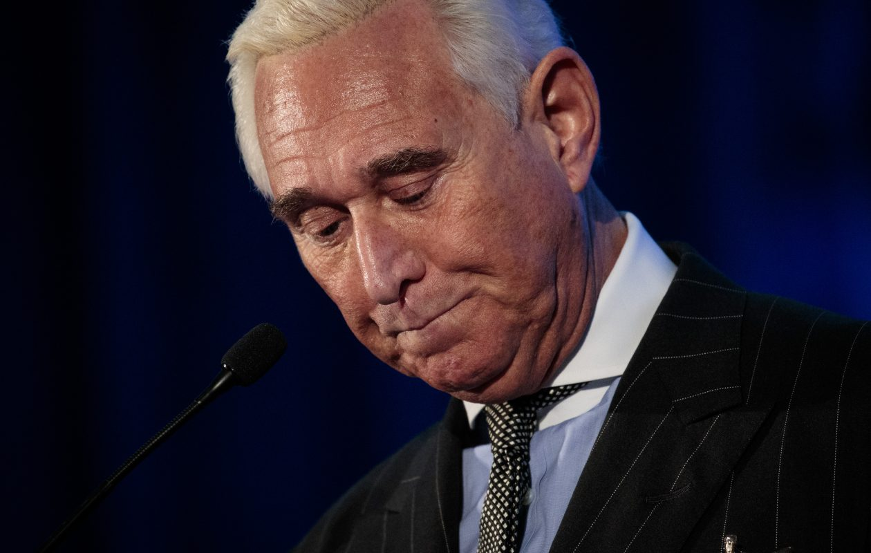 Former Trump adviser Roger Stone  has been indicted in the Mueller probe. (Getty Images)