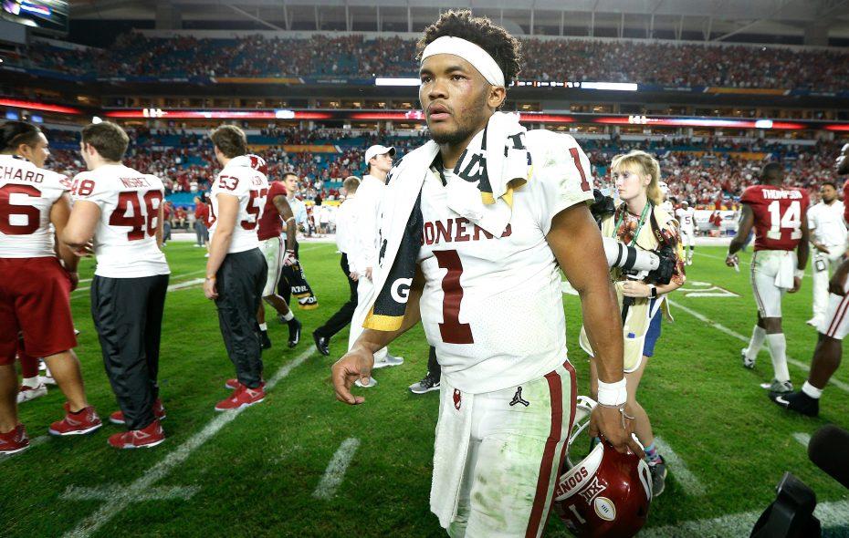 Oklahoma quarterback Kyler Murray. (Getty Images)