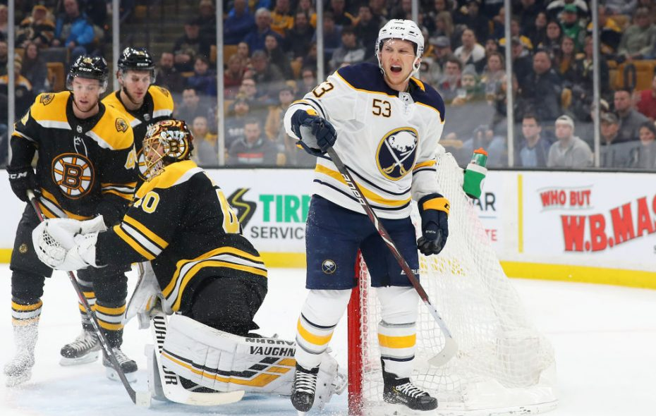 The Sabres have played a tougher schedule of late, and in those games, they have really looked outclassed, Travis Yost says. (Getty Images)