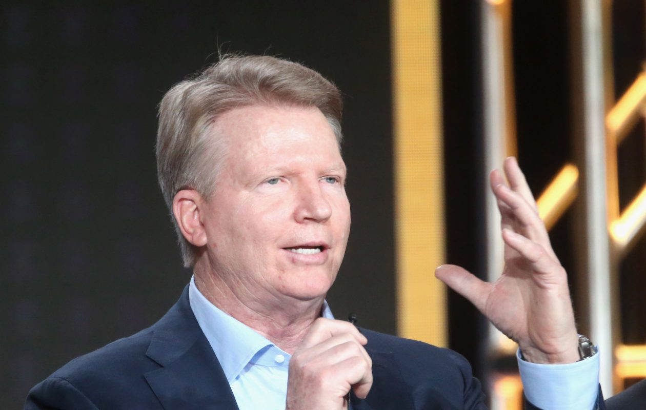 Former New York Giants quarterback and current CBS NFL analyst Phil Simms. (Getty Images)