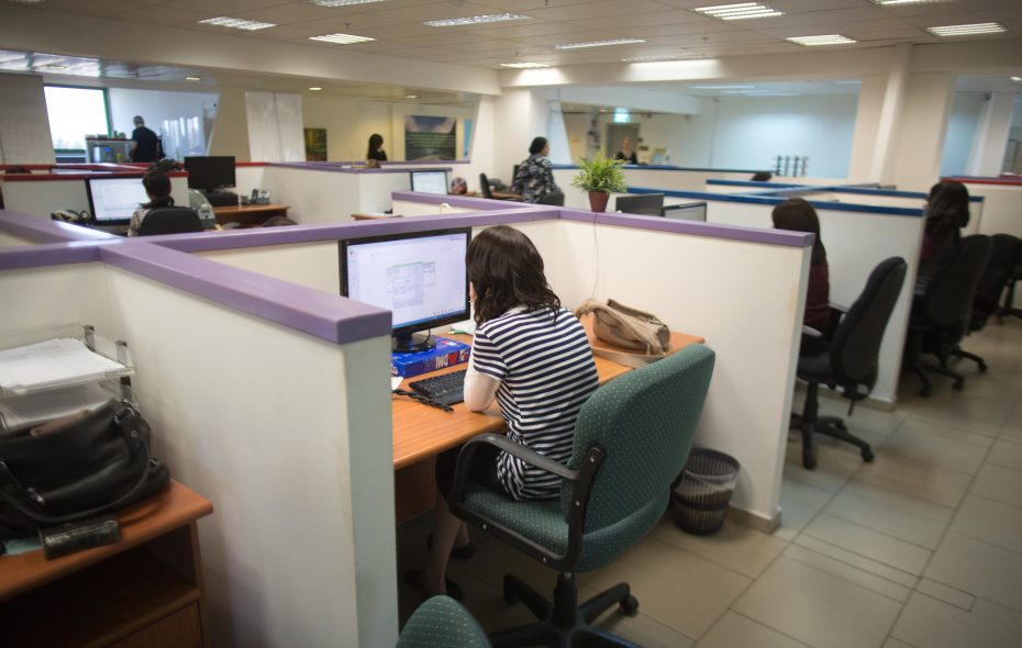 Office and administrative jobs are going away. Bookkeepers and clerks are being replaced by computerized systems as new technology continues to move up the job chain. (Getty Images)