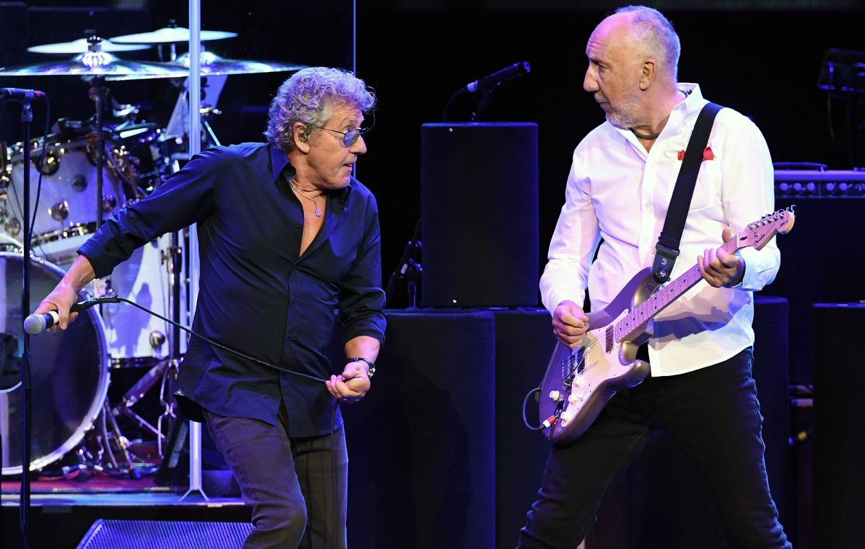 Roger Daltrey, left, and Pete Townshend will join The Who in Buffalo. (Ethan Miller/Getty Images)