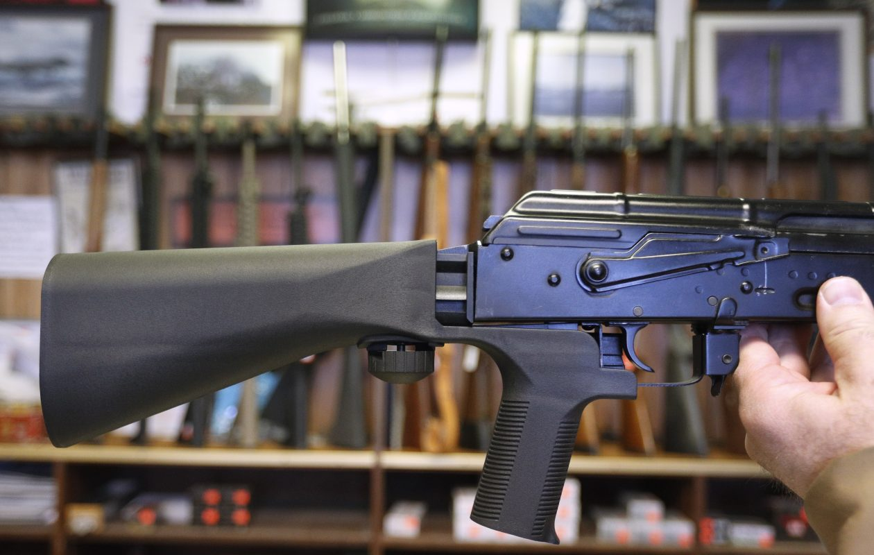 Among the provisions of a package of gun control laws passed Tuesday by the New York State Legislature is a ban on bump stocks.  (Getty Images)