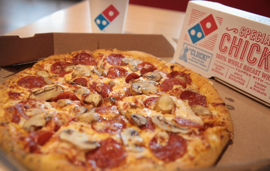 Domino's Pizza. (Getty Images)