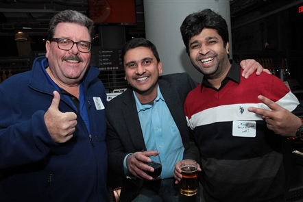 InfoTech WNY, a consortium of local tech businesses that focuses on networking, educational speakers and more, held its Winter Bash on Wednesday, Jan. 16, 2019, in The Draft Room inside the Labatt House.