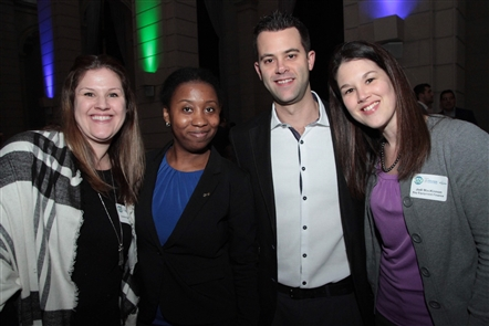 BN360, a young professionals branch of the Buffalo Niagara Partnership, hung out in the Admiral Room, a new downtown banquet facility and event space, to release its 2019 programming plans and its spotlight professionals.