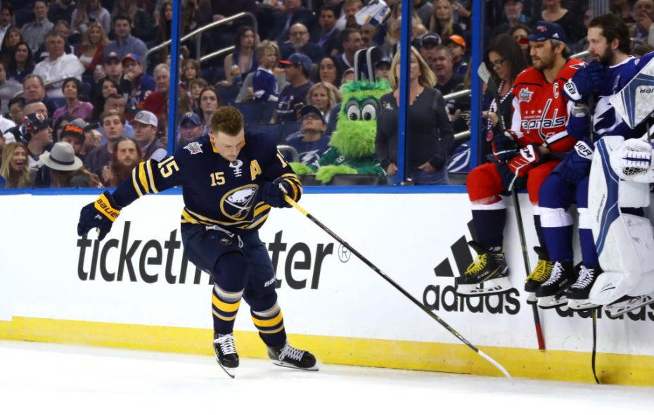 uk availability 6bfde 41211 Jack Eichel in Fastest Skater contest, Jeff Skinner in Puck ...
