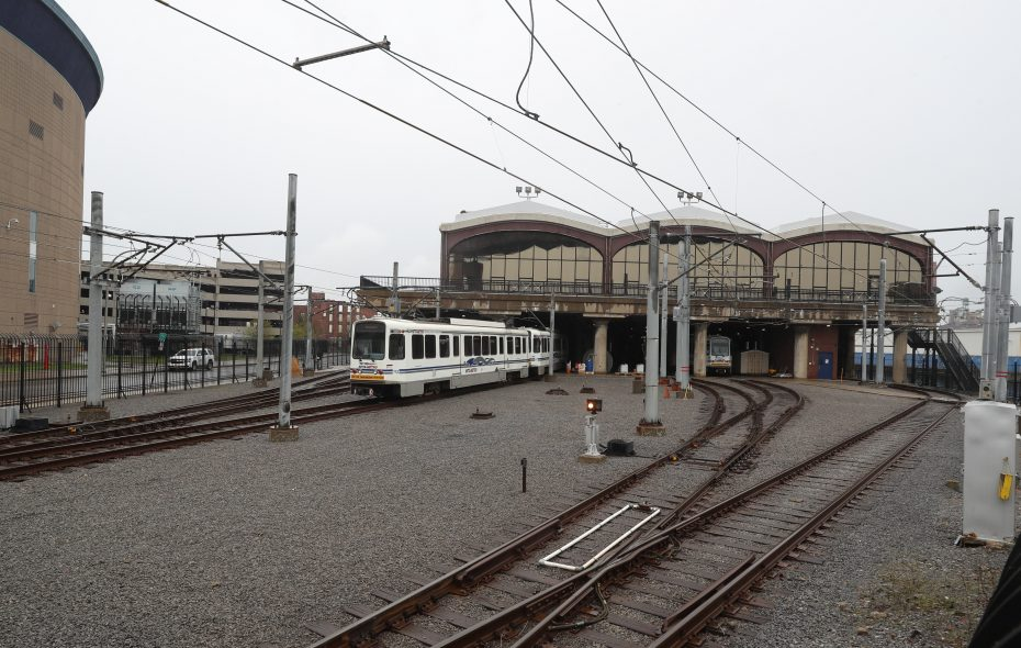NFTA officials want to redevelop the DL&W terminal into a new Metro Rail station accompanied by private development on the upper floor. (John Hickey/News file photo)