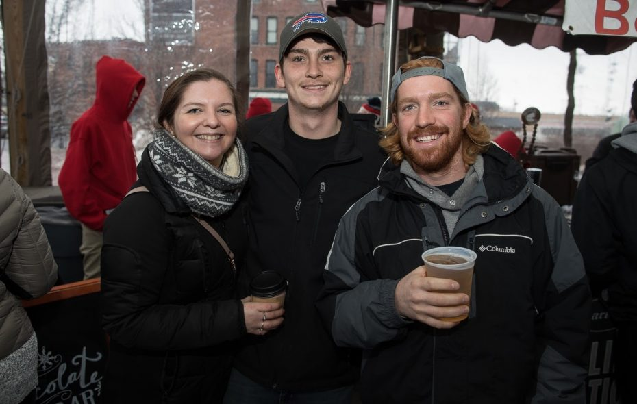 Smiles at the 2018 Larkinville Ice Festival, which returns from 11 a.m. to 3 p.m. Jan. 26. (Chuck Alaimo/Special to The News)