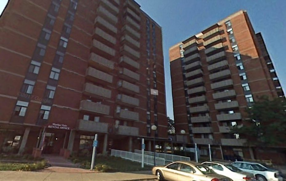 New York City-based Related Cos. wants to buy and renovate the affordable Marina Vista Apartments on Hertel Avenue near the Niagara River. (Google)