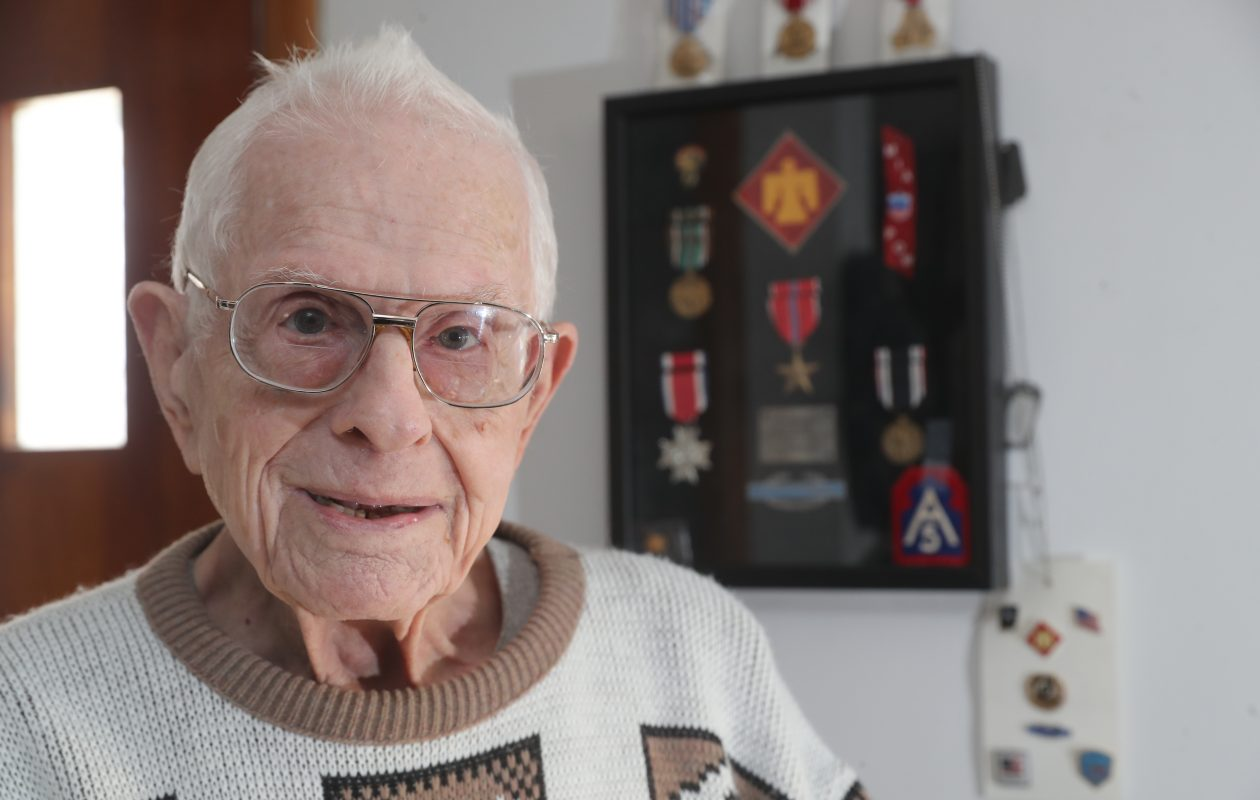 An act of cowardice still riles WWII veteran