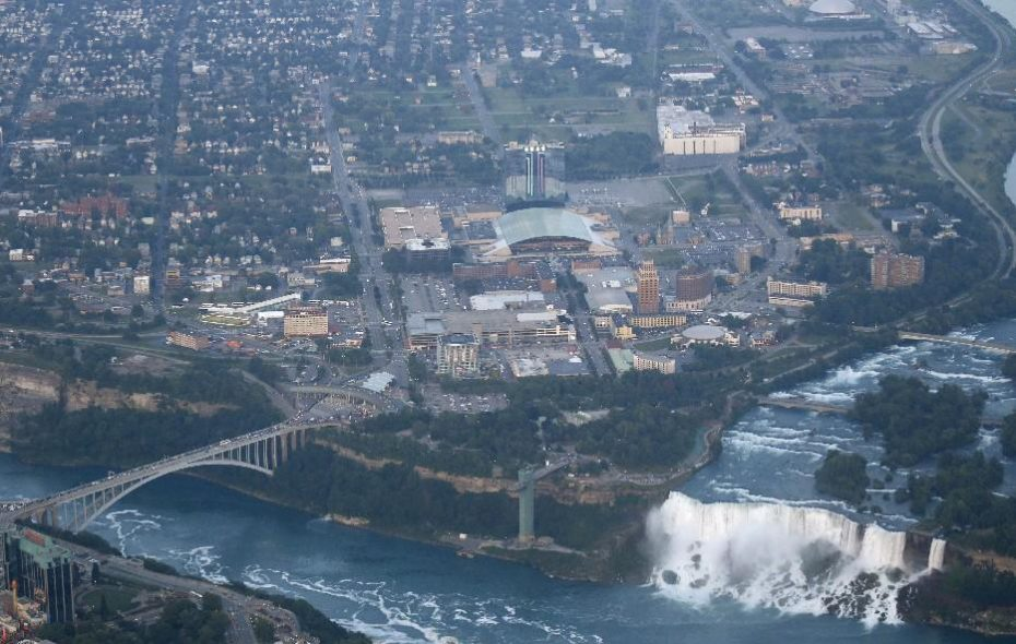 Sewage overflows were reported Thursday and early Friday in Niagara Falls. (Buffalo News file photo)