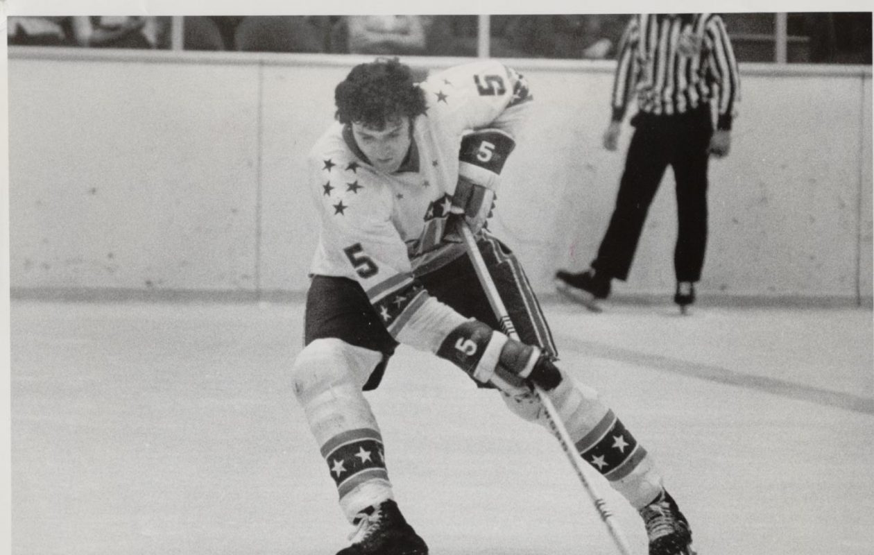 Defenseman Rick Pagnutti scored a team-record 18 goals for the Rochester Americans during the 1972-73 season. (Photo courtesy of Rochester Americans)