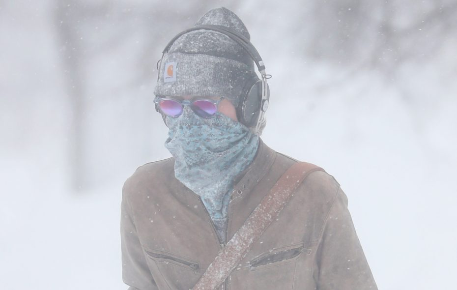 Frigid conditions gripped Western New York this week with the arrival of the polar vortex. Hopefully the winnter of Oxford Pennant's Warmest Cold City contest will be greeted with milder weather. (Sharon Cantillon/Buffalo News)