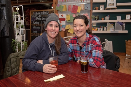 Westside Tilth Farm, an urban operation on Normal Avenue, visited Perks Cafe at Horsefeathers for a Polar Pizza Party pop-up on Sunday, Jan. 6, 2018. See who enjoyed farm-to-table pizza and the refreshments from Perks' newest location.