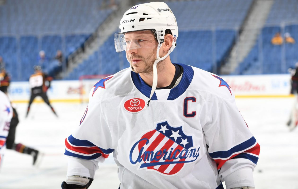Kevin Porter has been the leader for the Amerks (Micheline Veluvolu/Rochester Americans)