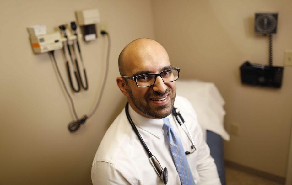 Dr. Adnaan F. Sheriff of Amherst Medical Associates. (Derek Gee/Buffalo News)