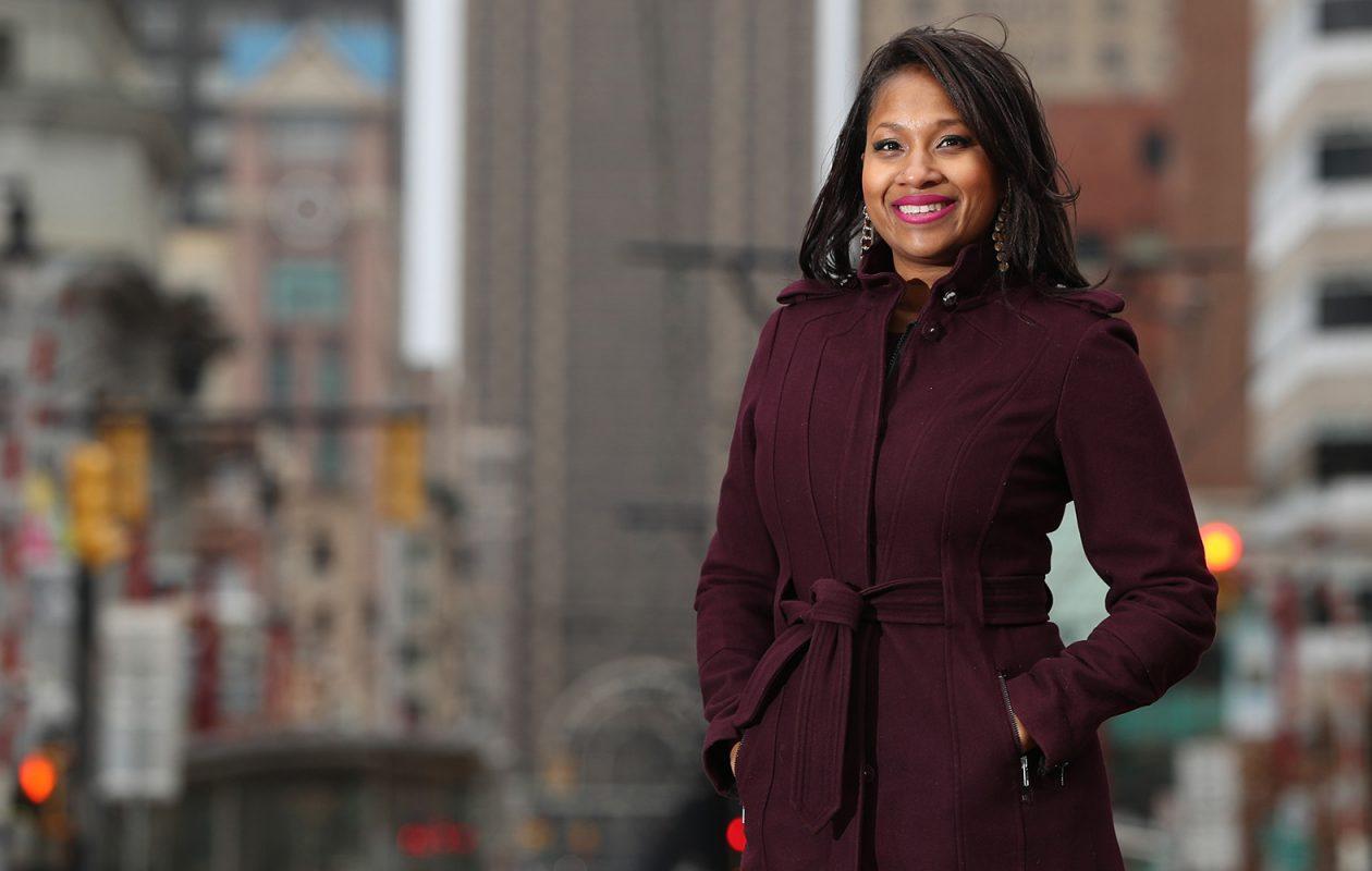 Brandye Merriweather, vice president for downtown development at Buffalo Urban Development Corp. (Sharon Cantillon/Buffalo News)