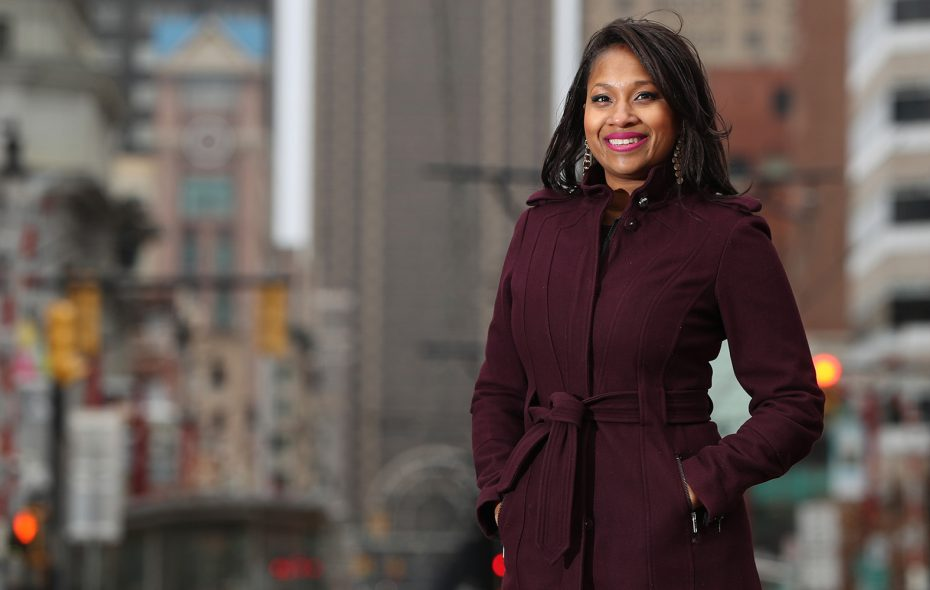 Brandye Merriweather, vice president for downtown development at Buffalo Urban Development Corp. (Sharon Cantillon/Buffalo News)