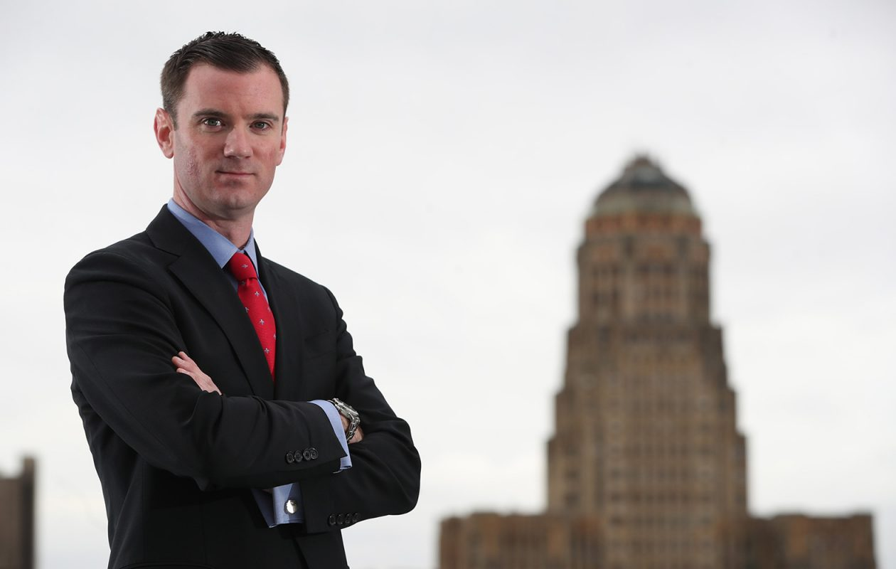 Charles Hunt is executive vice president and COO of Hunt Real Estate Corp. (Sharon Cantillon/Buffalo News)