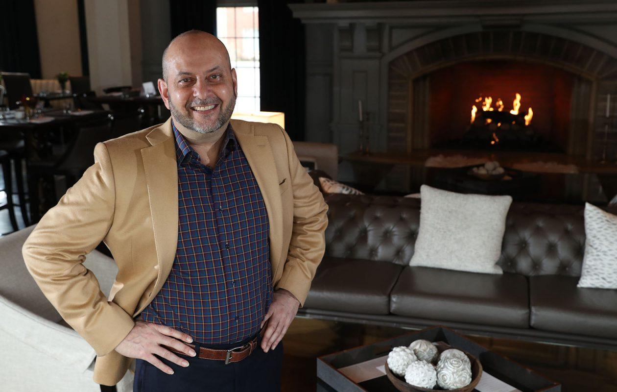 David Chiazza, executive vice president of Iskalo Development Corp. (Sharon Cantillon/Buffalo News)
