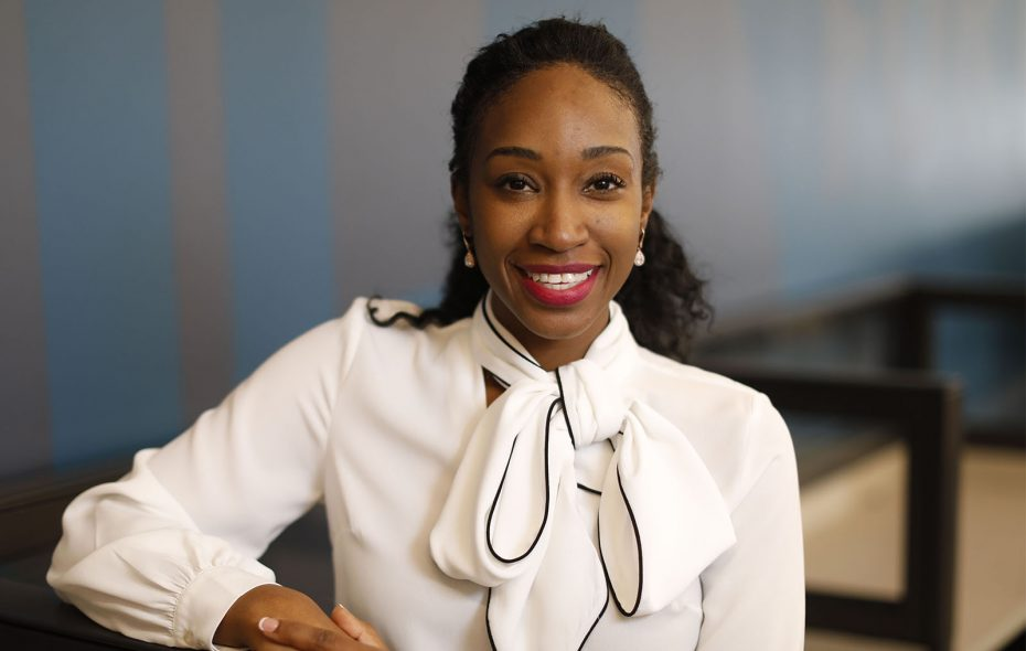 Davielle Jackson, founder of Femi Secrets. (Derek Gee/Buffalo News)